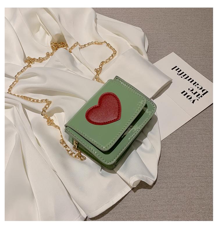 Fashion peach heart shoulder bag NHXC141448