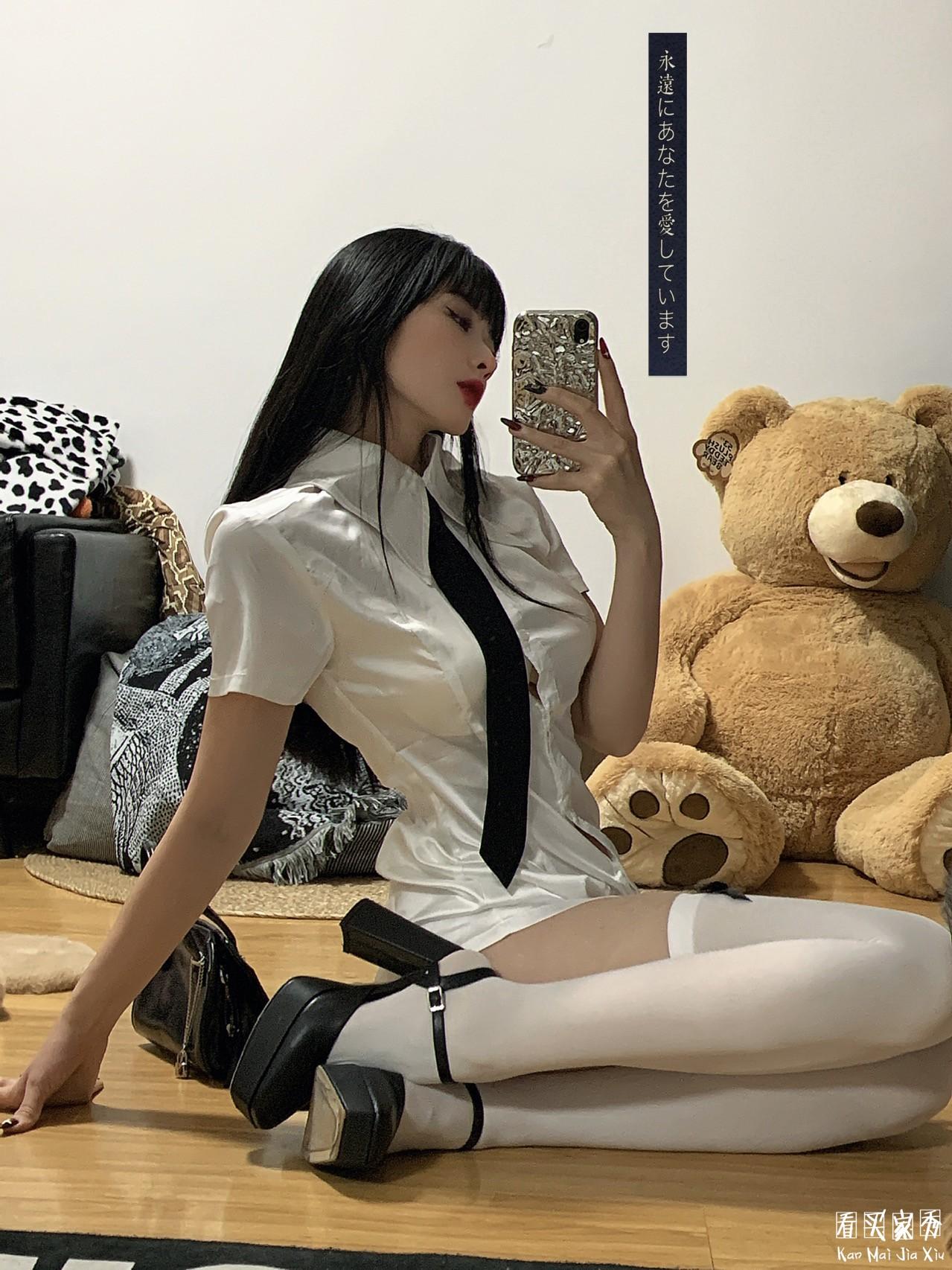 高端衬衫连衣裙买家秀,神仙款韩国小众品牌4