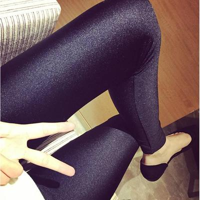 Fat sister plus fertilizer XL large size women's 200 pounds leggings mm Spring 2017 stretch pencil feet trousers