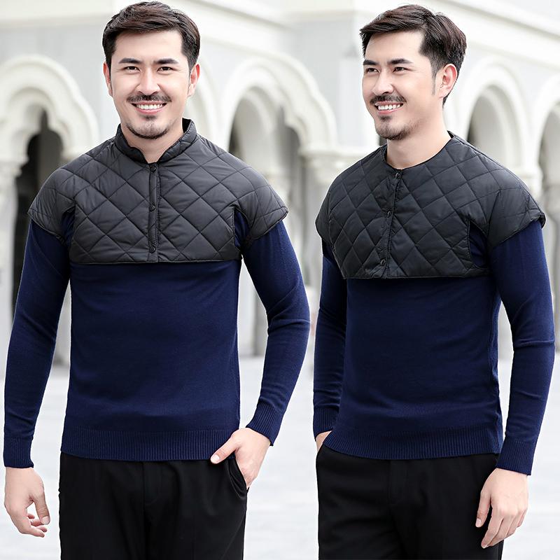 2020 áo mới mùa xuân giản dị cha trung niên mùa xuân Quần áo nam Hàn Quốc 35-40-45-49-50 tuổi - Áo vest cotton