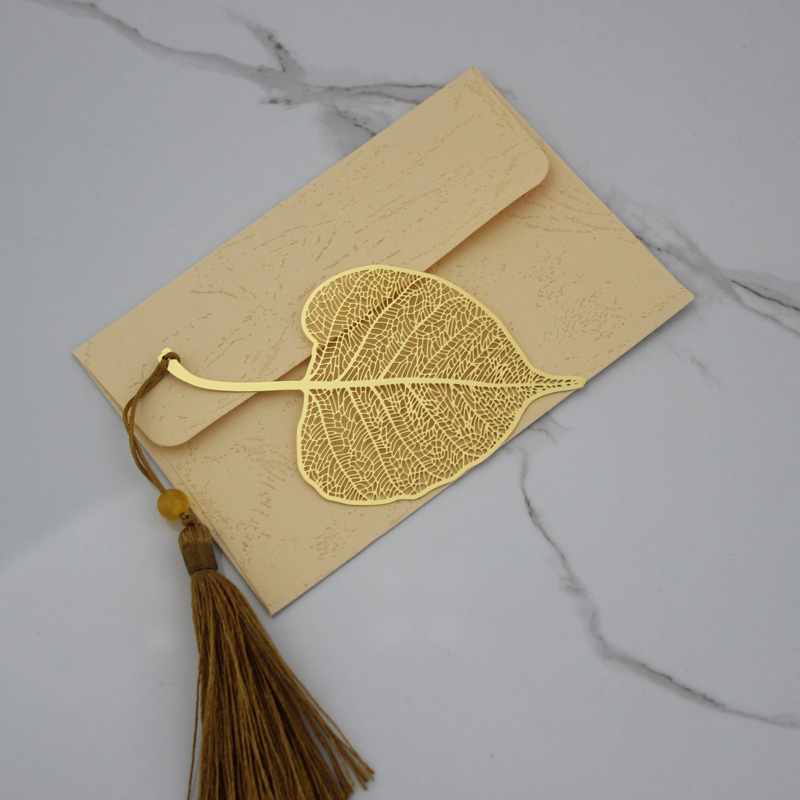 Bodhi Leaves. Letter Package. No Lettering