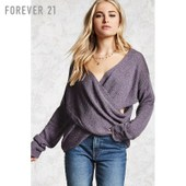 Forever 21 Soft Wrap Sweater