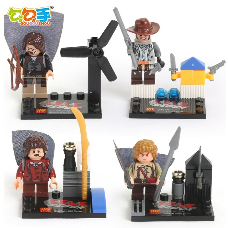 【儿童必备】三套积木乐高式积木套装