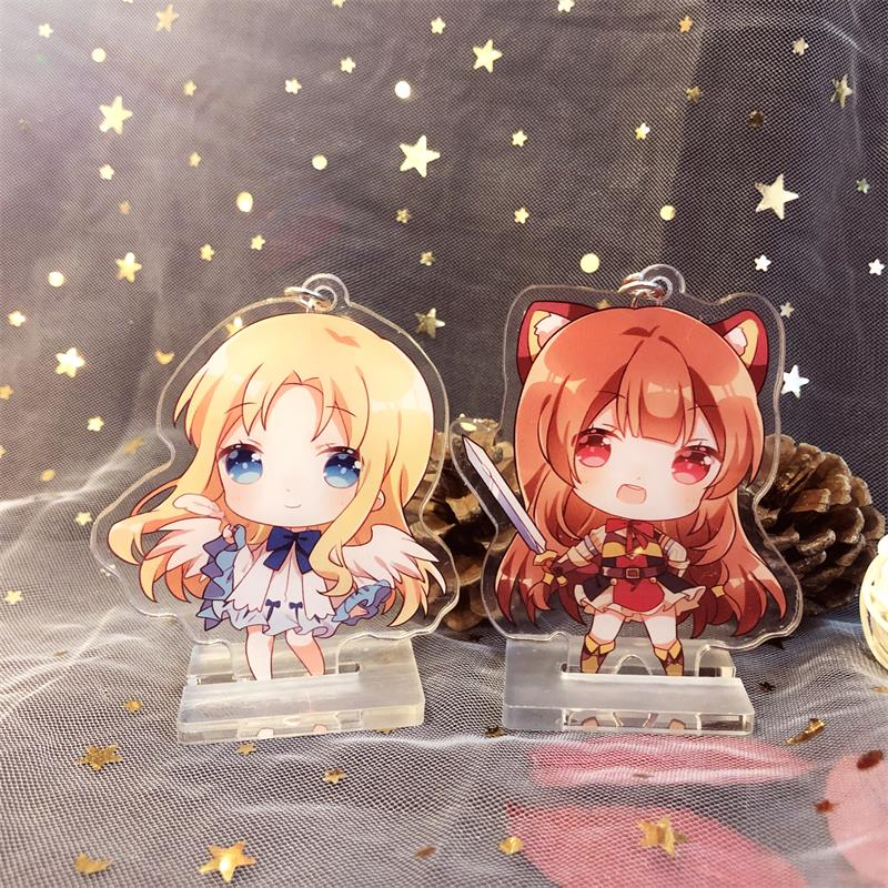 3pcs Anime Tate no Yuusha no Nariagari Acrylic Stand Figure Holiday Gift