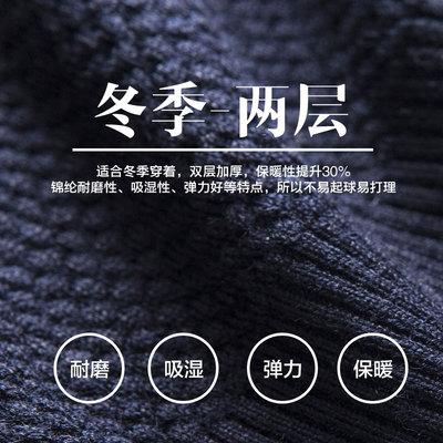 Áo len nam dày phần cộng với chất béo tăng béo nam cổ tròn áo len áo len thủy triều mùa đông nam cơ sở kích thước lớn - Hàng dệt kim