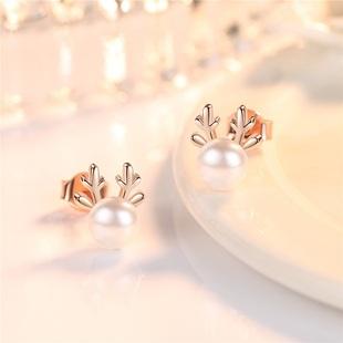 【银唯源】网红s925小动物耳环