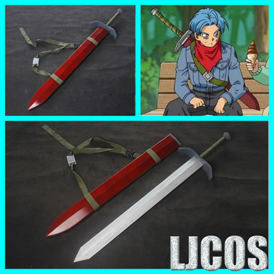 taobao agent 【LJCOS】Dragon Ball Super Future Trunks Back Sword Weapon Animated Cosplay Props