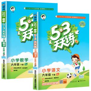 53天天练六年级下册语文人教版