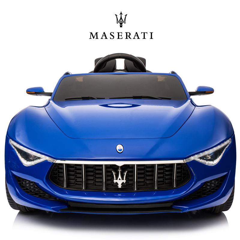 Helai Hi Maserati children's electric car four-wheeled baby remote control men and women's children's car can sit on the toy car