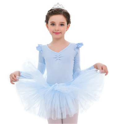 Children's ballet dress girls practice clothes split ballet skirt performance clothing