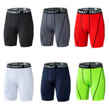 Basketball tight shorts leggings football training five-point trousers, quick-drying fitness, marathon, shrink pants