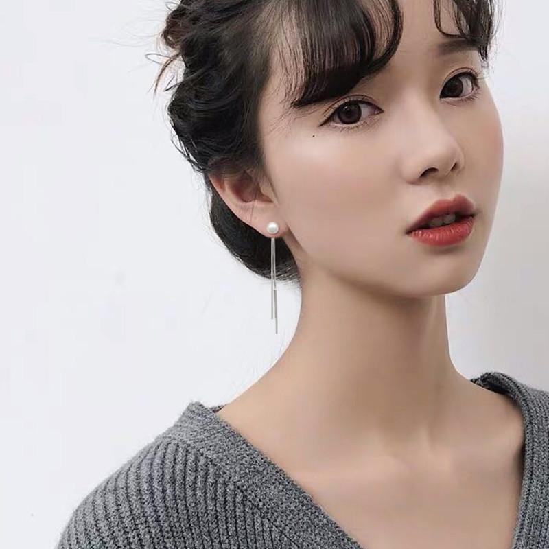 【女神必备】长款纯银流苏耳线耳环热销196件正品保证