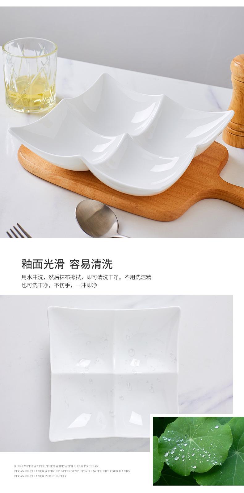 Jingdezhen porcelain compote up phnom penh ipads ceramic light sitting room key-2 luxury fruit snacks plate frame snack plate of the home plate