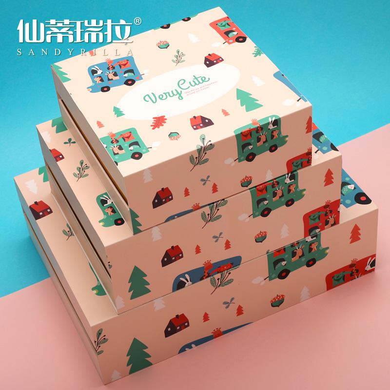 仙蒂瑞拉生日礼品盒大号节日礼物盒子