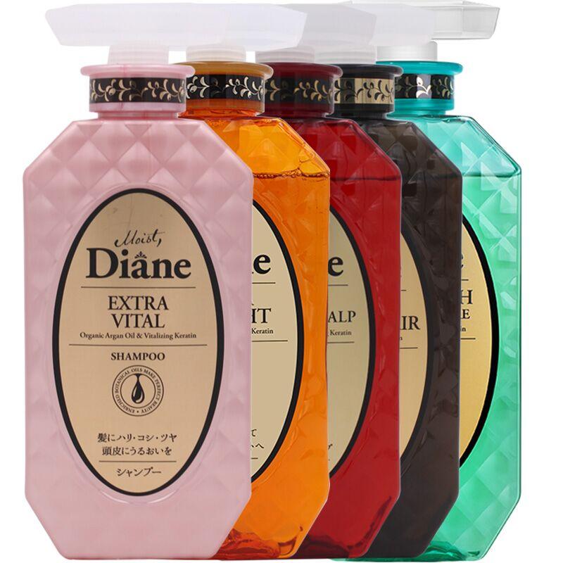 日本MOIST DIANE黛丝恩致美摩洛哥油洗发水护发素天然无硅油①去屑