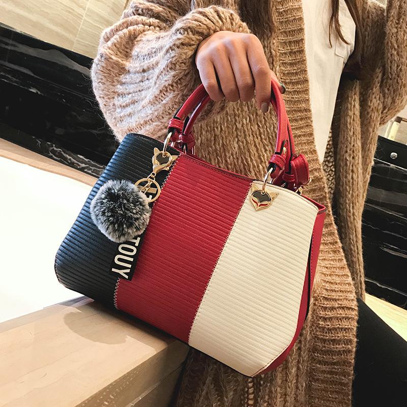 9e87ffb0fcac Ladies big bag female 2018 New Wave handbags wild handbag fashion tide large-capacity  messenger bag 2019