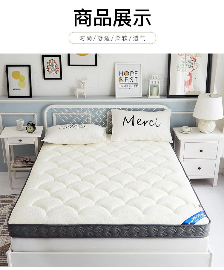 Dày nệm 1.5 m giường tatami mat 1.8 m Simmons duy nhất 1.2 m tầng mat miếng bọt biển giường nệm