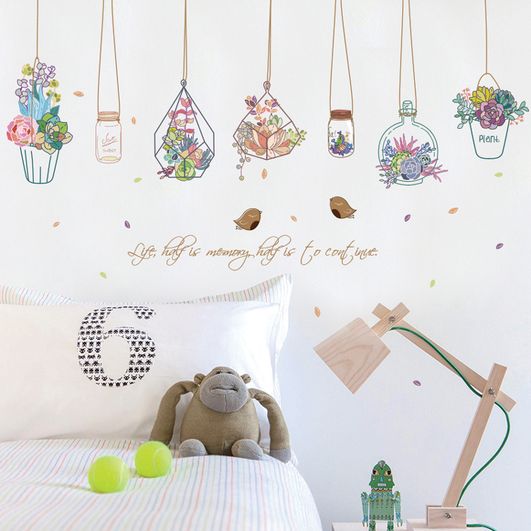 Usd 807 Creative Wall Stickers Dormitory Girls Heart Room Layout