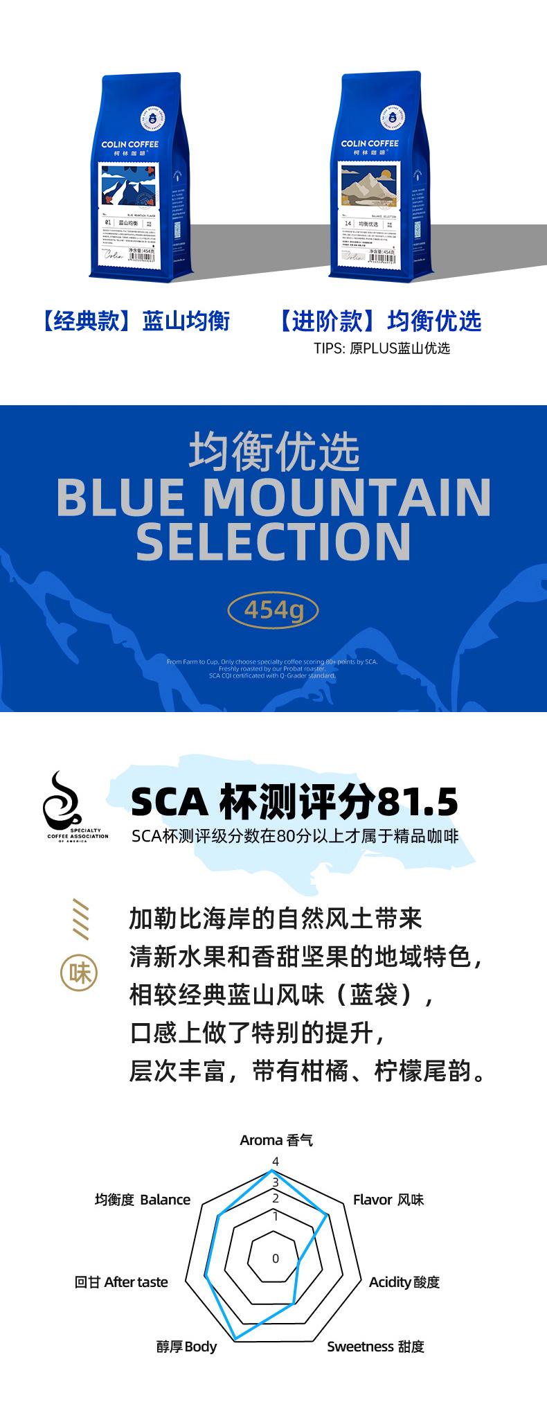 安利一款销量上百万,回头购不断的蓝山均衡咖啡豆 博主推荐 第1张