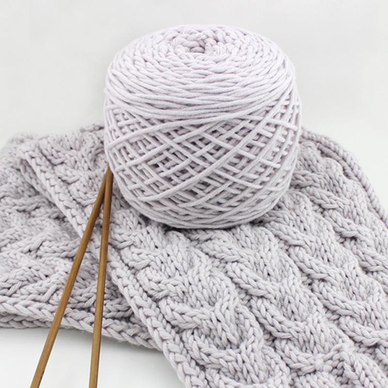 世纪美织手工编织围巾毛线球牛奶棉情人棉粗毛线团diy初学者柔软