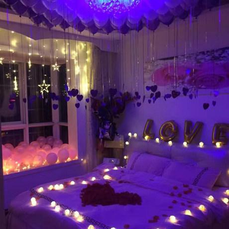 Proposal Creative Supplies Romantic Birthday Decoration Balloon Room Hotel Scene Boyfriend Tanabata Valentine S Day,American Airlines Wifi App Download