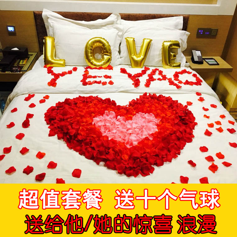 Usd 652 fake rose petals birthday decoration marriage proposal fake rose petals birthday decoration marriage proposal making romantic confession wedding decoration supplies room wedding room junglespirit Choice Image