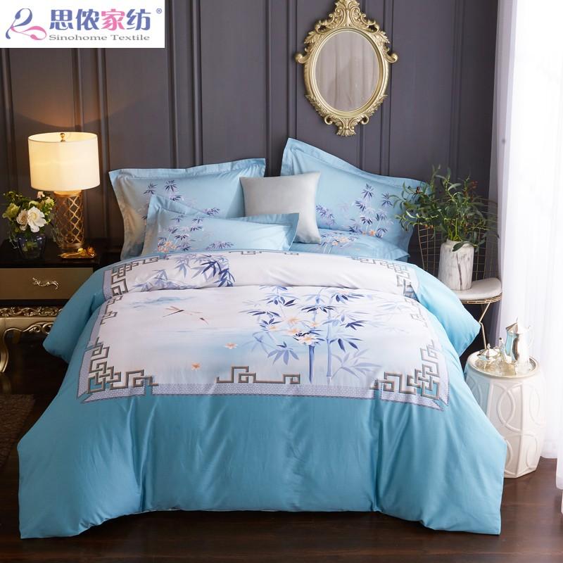 四件套全棉纯棉2米床 夏季床上用品可爱少女心公主风四件套北欧风