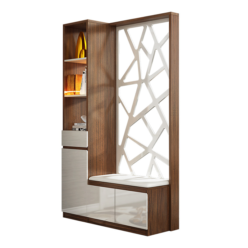 Simple And Modern Partition Fashion Living Room Creative Screen Hollow  Porch Cabinet Shoe Cabinet Hall Cabinet ...