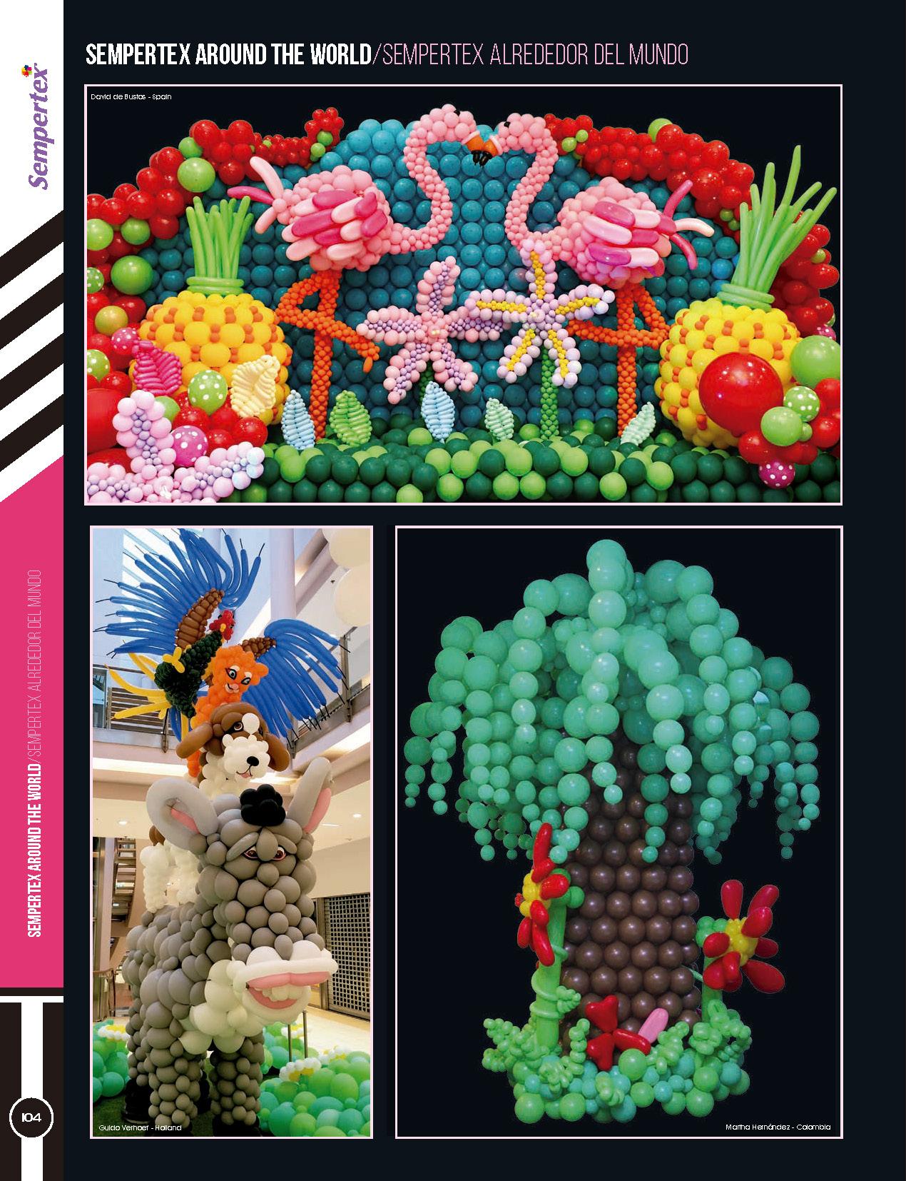 【长条球颗】珠光气球造型乳胶编织汽球儿童节玩具详细照片