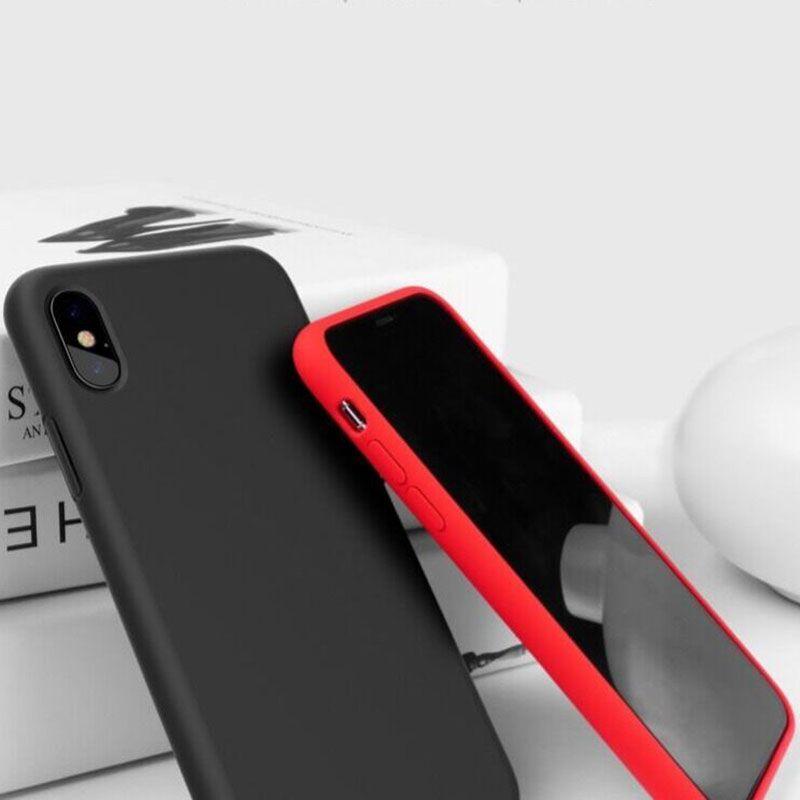 iPhone xs max手机壳苹果x新款液态硅胶软全包防摔套磨砂8X官方原装iPhonex高档网红iponex男女xsmax保护外壳