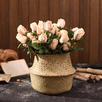 仿真花假花客厅摆件装饰花绢花手捧花小清新花束欧式桌面家居摆设