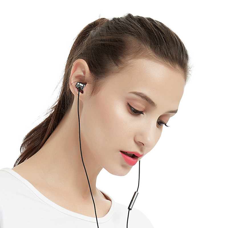 Infink in6 subwoofer wired original headset computer mobile phone Android apple vivo millet oppo universal boys and girls line control monitor k song eat chicken music in-ear earphones Mai 6s