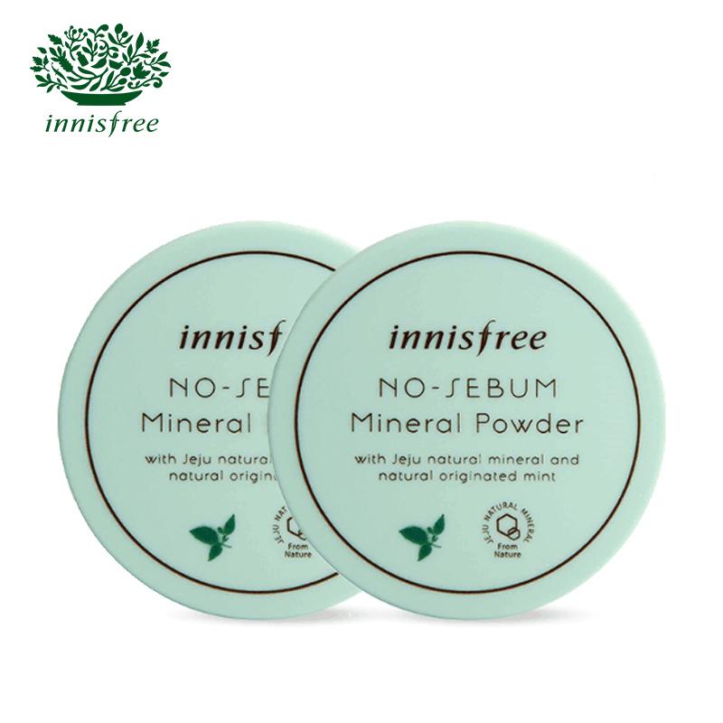 Innisfree / контроль минеральное масло, рыхлый порошок Innisfree комплект 5 г * 2 восстанавливающий порошок порошка