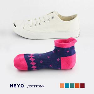 内优堂NEYO 棉 网红袜INS潮流袜个性短袜女袜