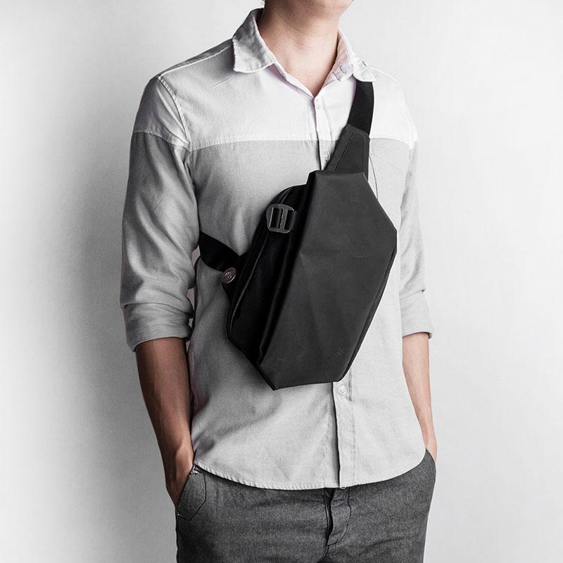 胸包男韩版腰包潮包斜挎包新款男单肩包挎包背包休闲包防水男包小