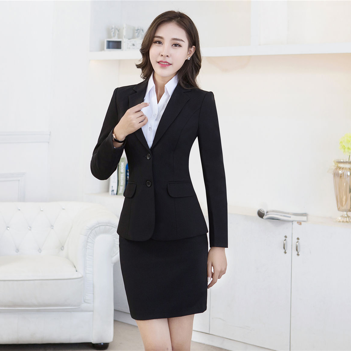 Usd 25 94 Occupation Wear Women S Suit Autumn And Winter Small Suit