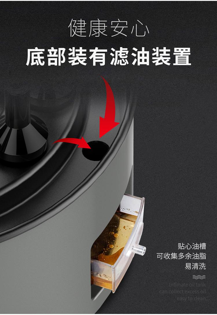 利仁 KL-J123 全自动无烟电烧烤炉 旋转烤串机 图15