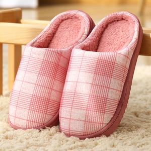 【5金冠爆款】居家保暖防滑情侣棉拖鞋