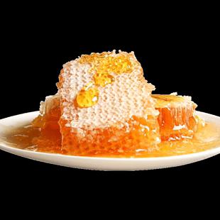 纯正天然蜂巢蜜嚼着农家自产蜂蜜礼盒装送礼