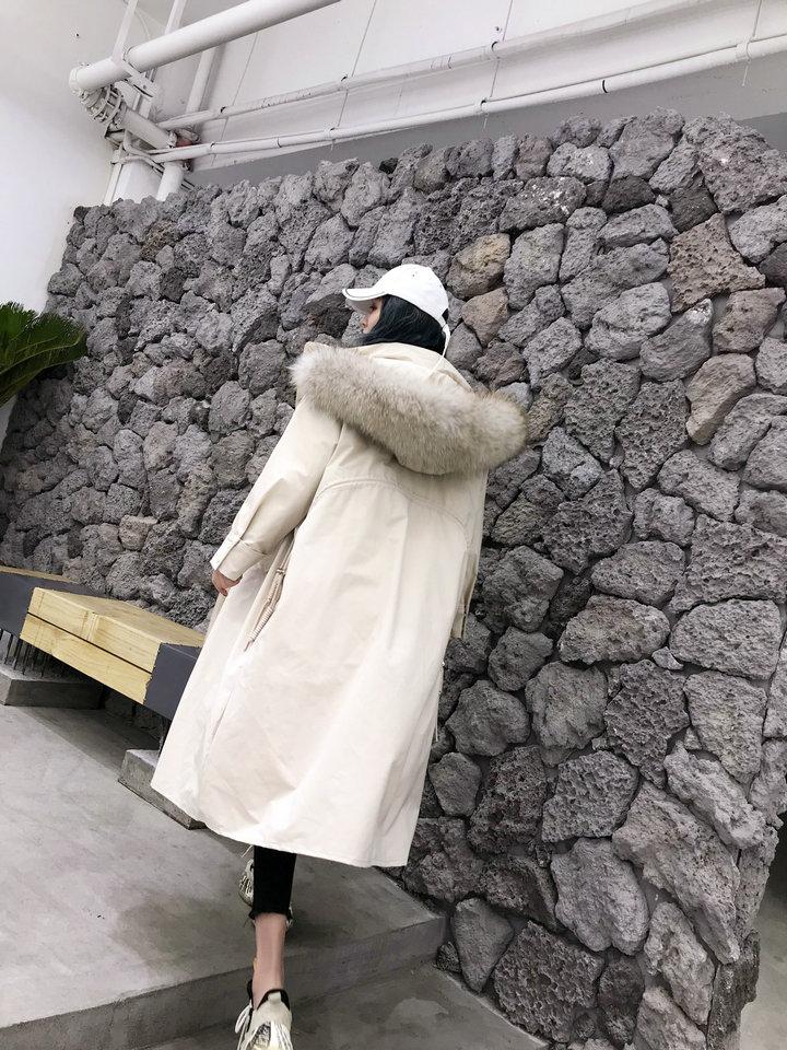 Women Large Hooded Winter 4
