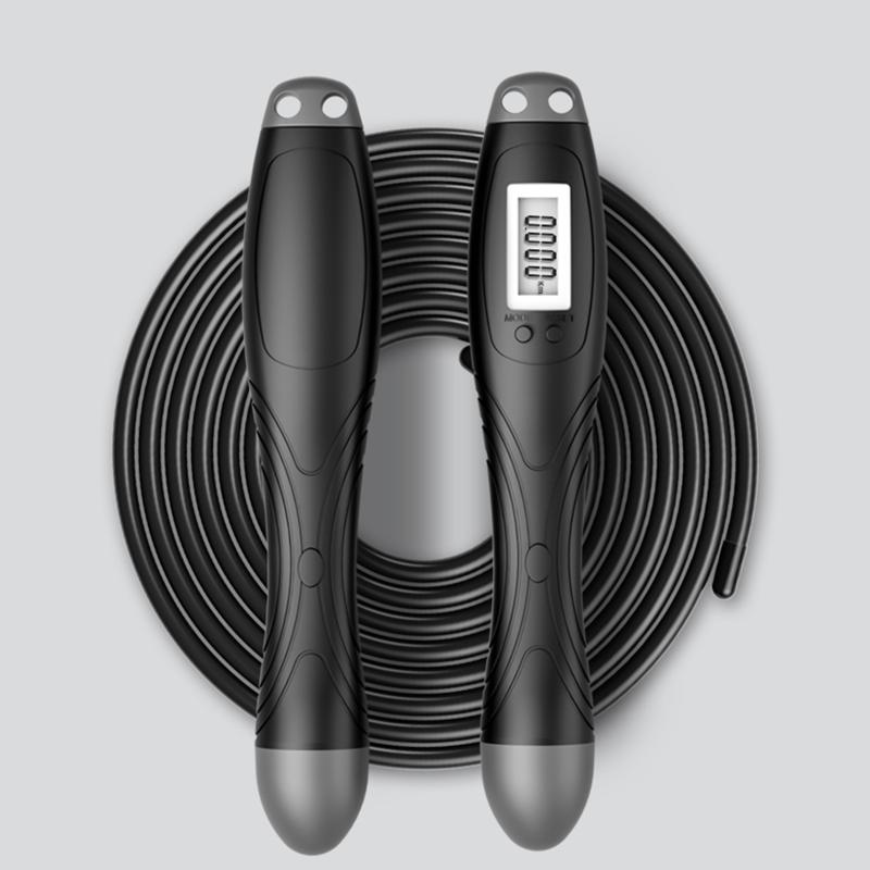 计数无绳跳绳健身减肥运动专业燃脂成人瘦身负重款重力无线球绳子