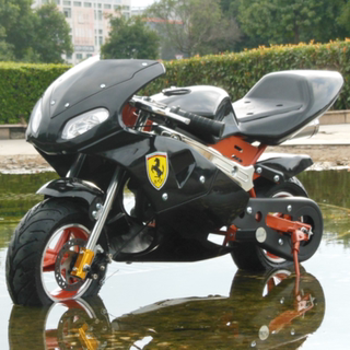 2020 new small two-stroke four-stroke 49cc mini sports car race lying small single-cylinder motorcycle is powered street car