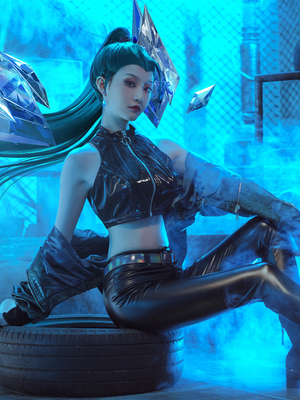 taobao agent Three-point delusion lol kasha cosplay costume kda2020 girl group game suit cosply costume female