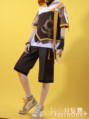 taobao agent Three-point delusion original god cos clothing empty tide clothing cospaly men's cosplay anime clothing male cos men's clothing