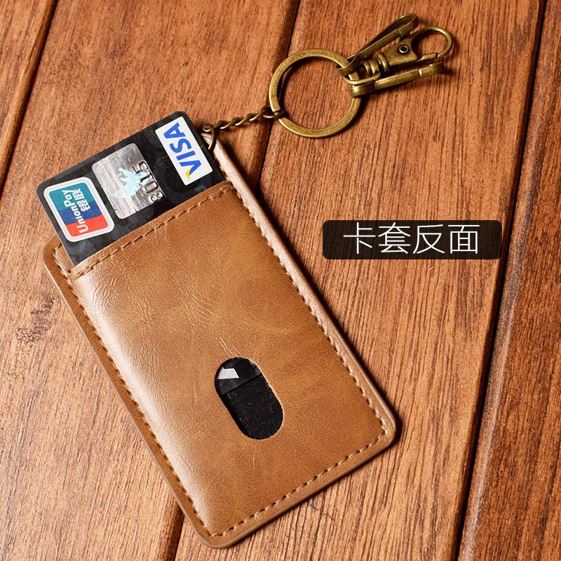 Thẻ kinh doanh bộ người đàn ông thẻ gói đa chức năng chính túi người đàn ông và phụ nữ bộ thẻ ngân hàng mỏng xe buýt bộ thẻ keychain