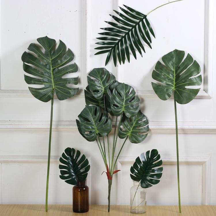 Mô phỏng cảm giác phim lớn rùa trở lại lá rải rác đuôi hoa hướng dương mô phỏng phòng khách hoa Bắc Âu trang trí nhà cưới hoa - Hoa nhân tạo / Cây / Trái cây