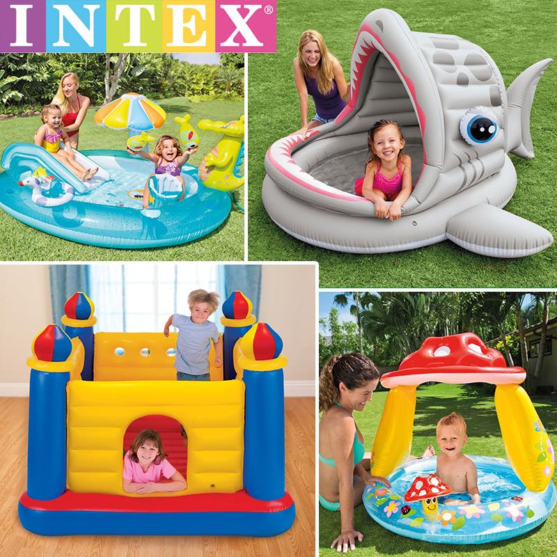 INTEX морской мяч бассейн ребенок газированный плавательный бассейн для взрослых ребенок ребенок домой комнатный цвет мяч купание бассейн