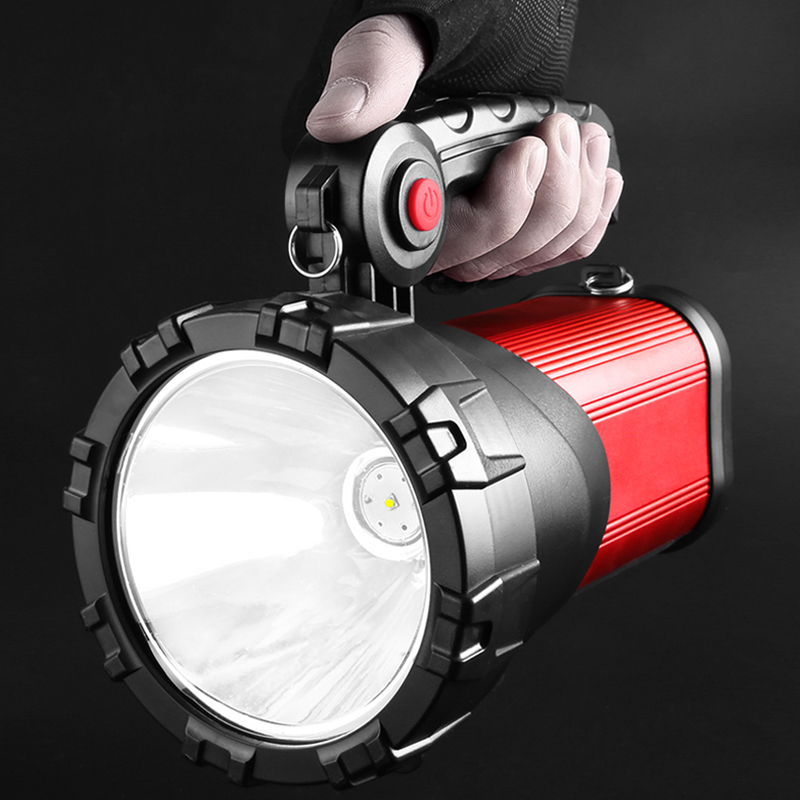 Flashlight bright charging super bright multi-functional special forces rechargeable portable xenon lamp Searchlight 1000 hunting