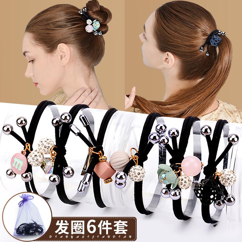 韩国头绳扎头发网红发圈橡皮筋成人皮套女ins百搭发绳头饰发饰品