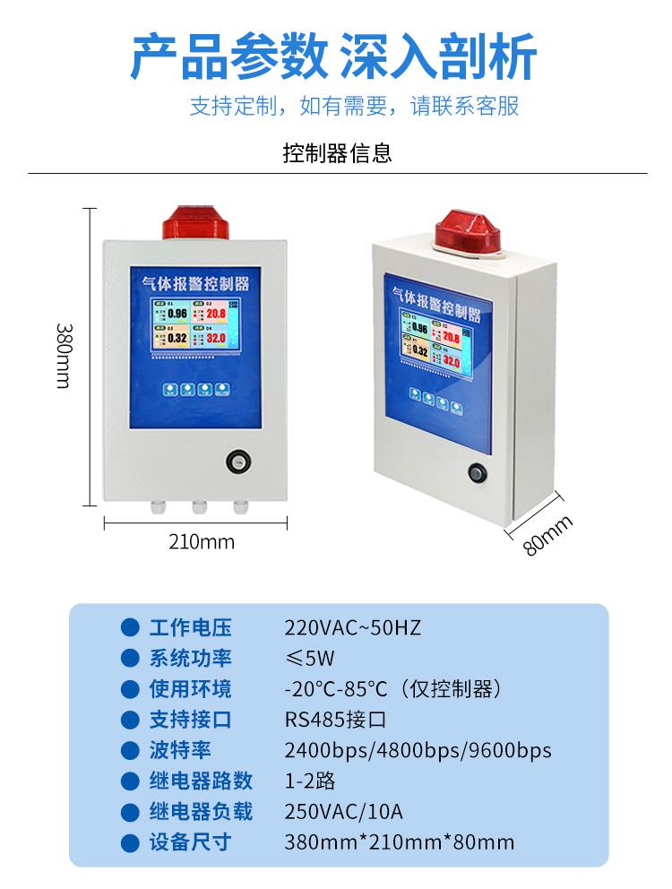 精讯畅通-工业可燃气体报警器